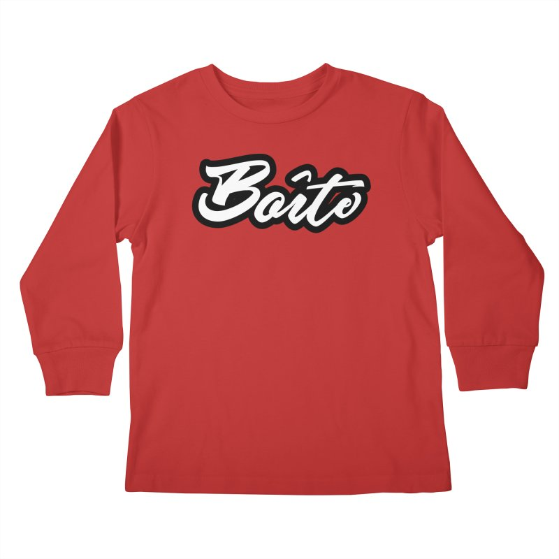 Boîte Kids Longsleeve T-Shirt by Murphed
