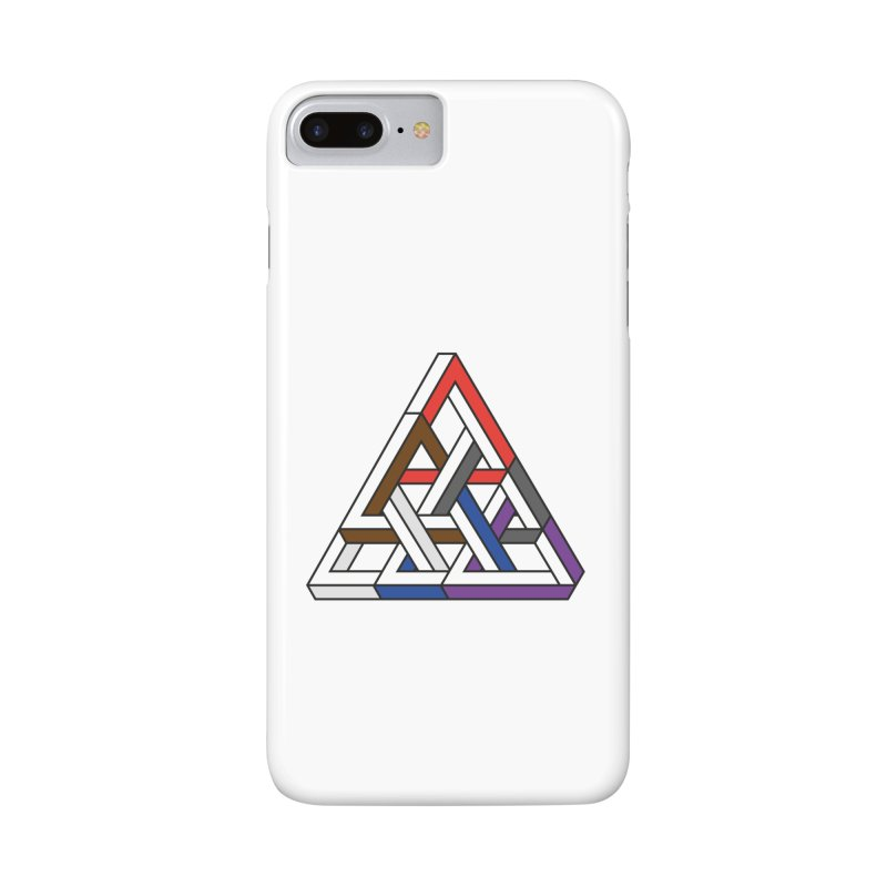 Triangular Accessories Phone Case by Murphed