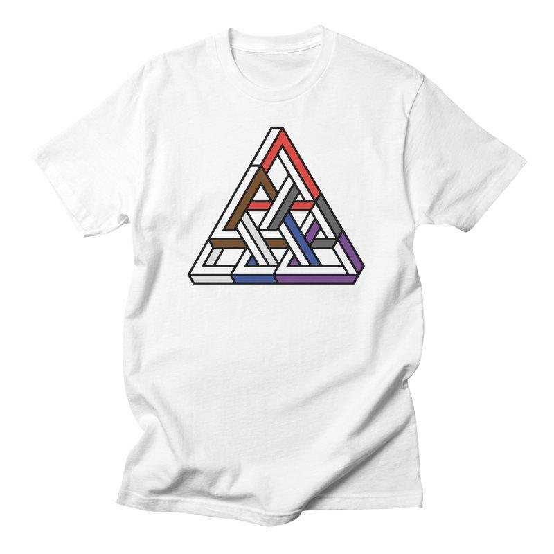 Triangular Men's T-Shirt by Murphed