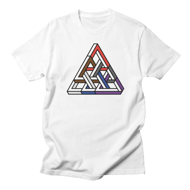 Triangular Men's Regular T-Shirt by Murphed