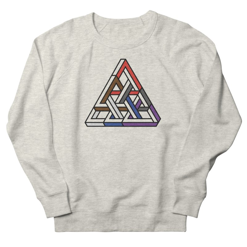 Triangular Men's Sweatshirt by Murphed