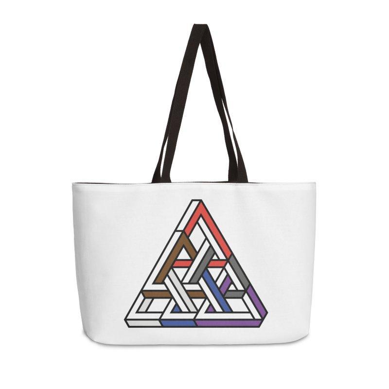 Triangular Accessories Weekender Bag Bag by Murphed