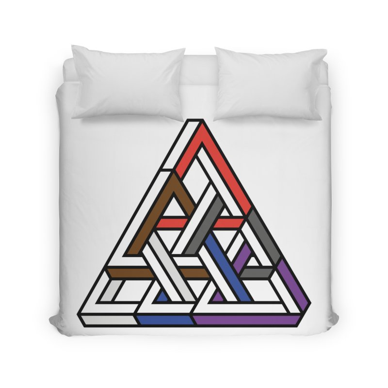 Triangular Home Duvet by Murphed