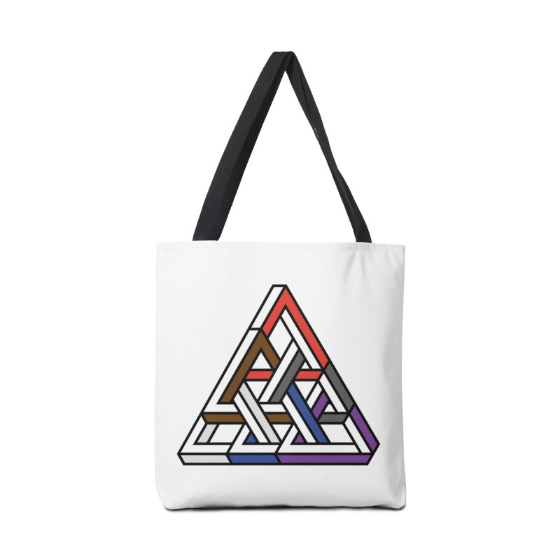 Triangular Accessories Bag by Murphed