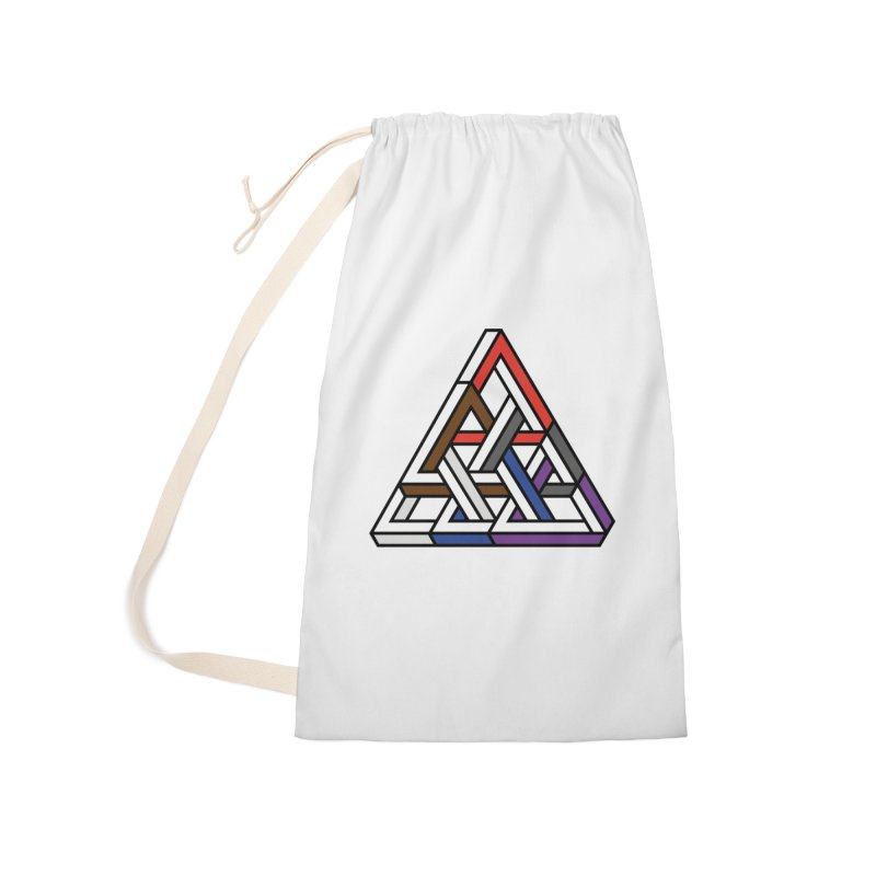 Triangular Accessories Laundry Bag Bag by Murphed