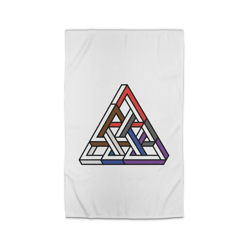 Triangular Home Rug by Murphed