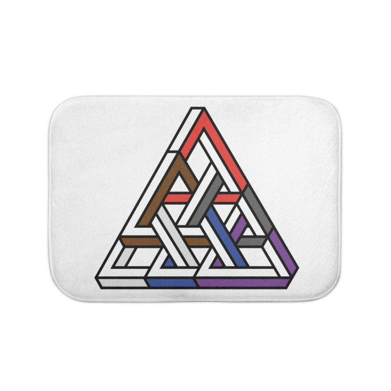 Triangular Home Bath Mat by Murphed