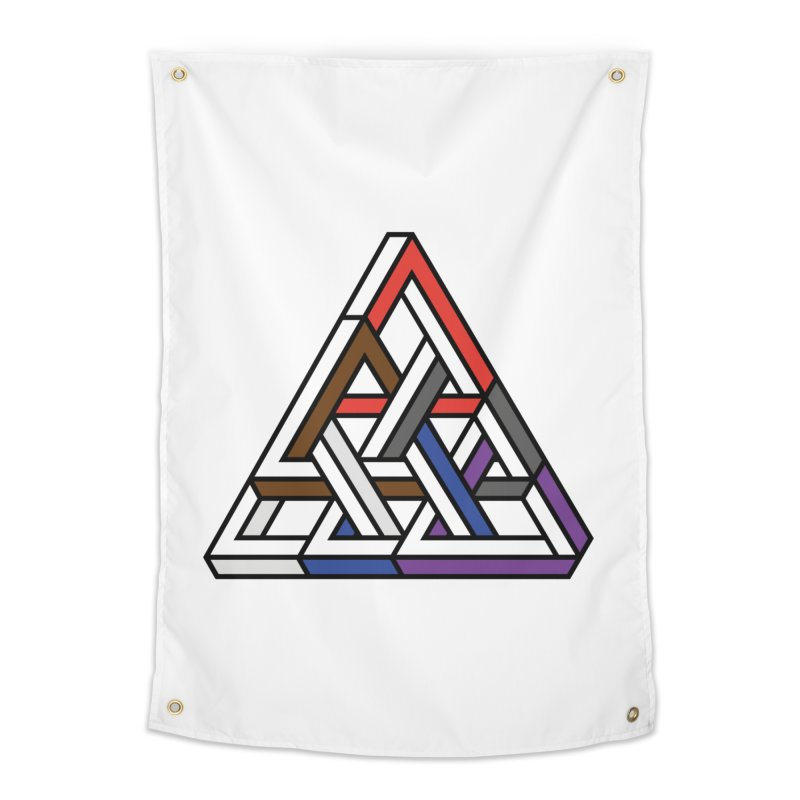 Triangular Home Tapestry by Murphed
