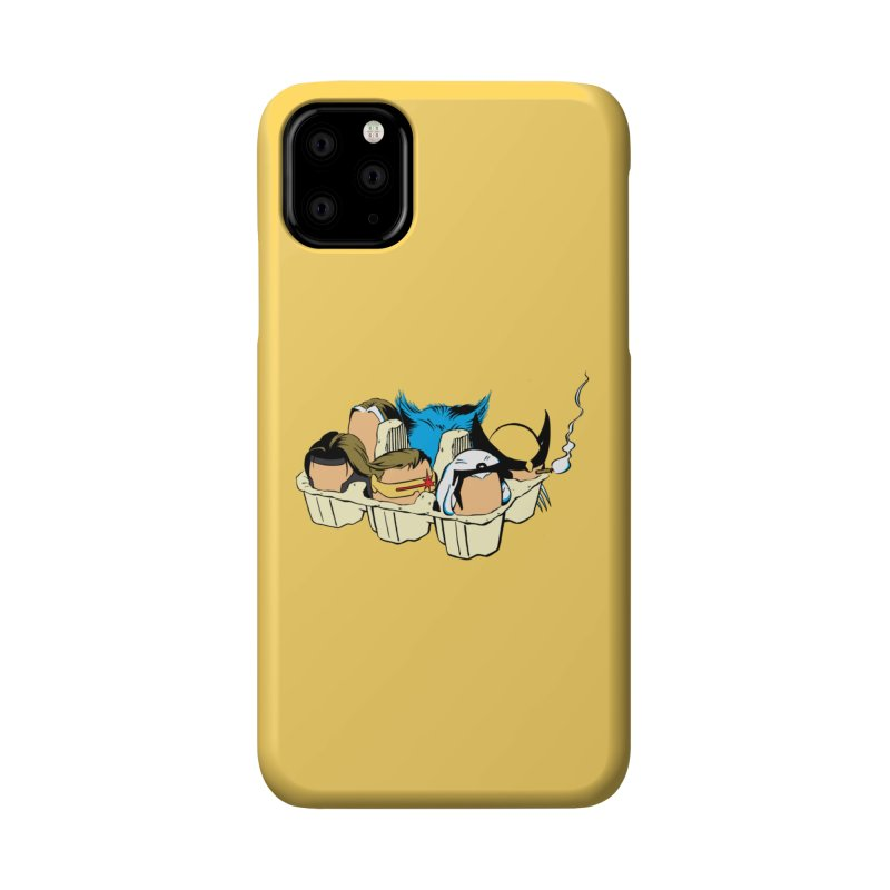 Eggs-Men Accessories Phone Case by Murphed