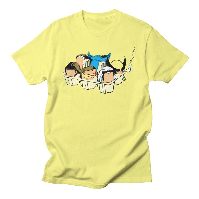 Eggs-Men Men's T-Shirt by Murphed