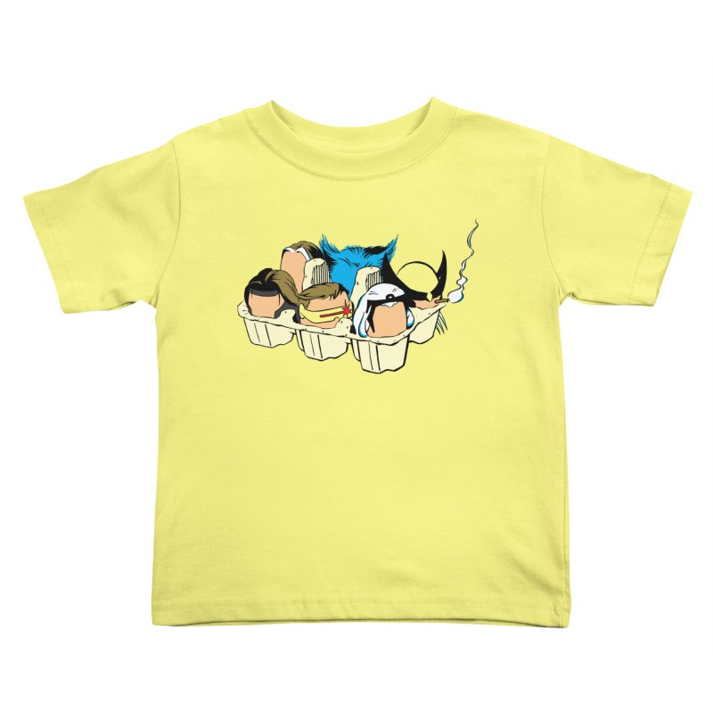 Eggs-Men Kids Toddler T-Shirt by Murphed