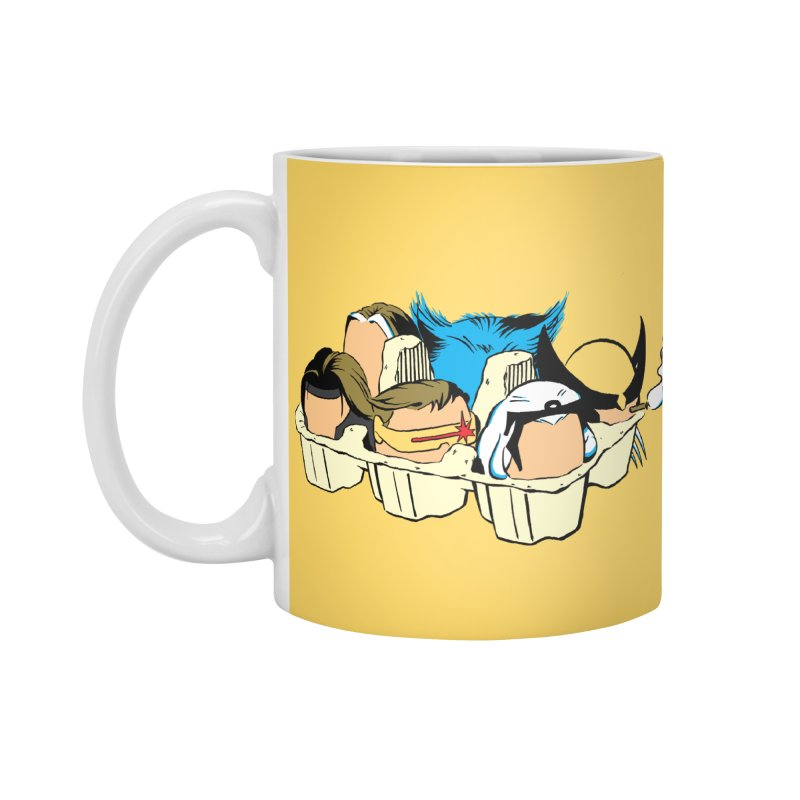 Eggs-Men Accessories Standard Mug by Murphed