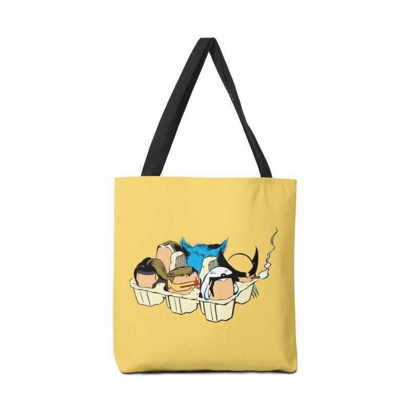 Eggs-Men Accessories Tote Bag Bag by Murphed