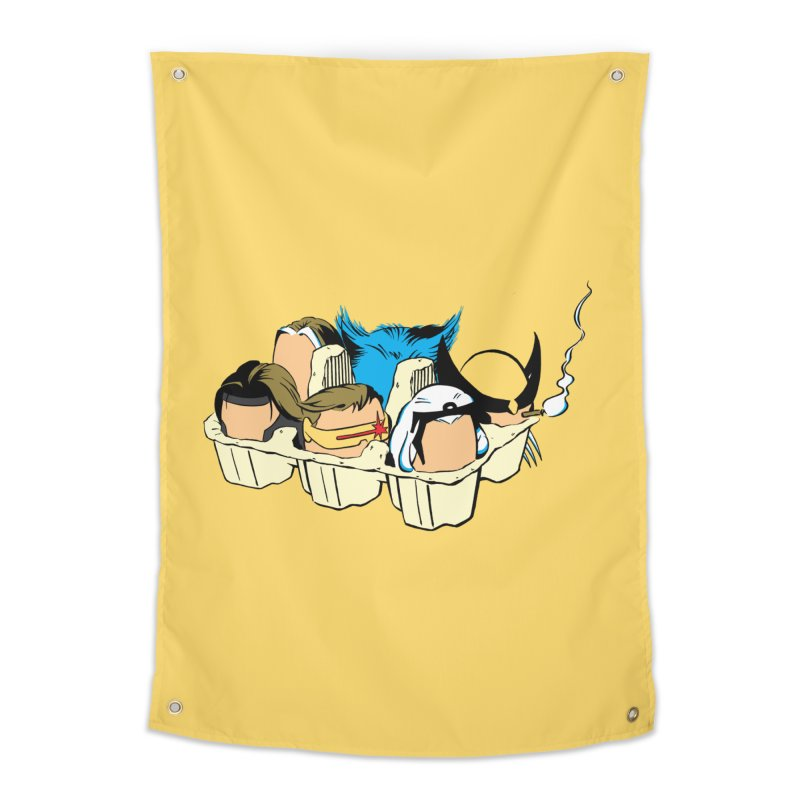 Eggs-Men Home Tapestry by Murphed