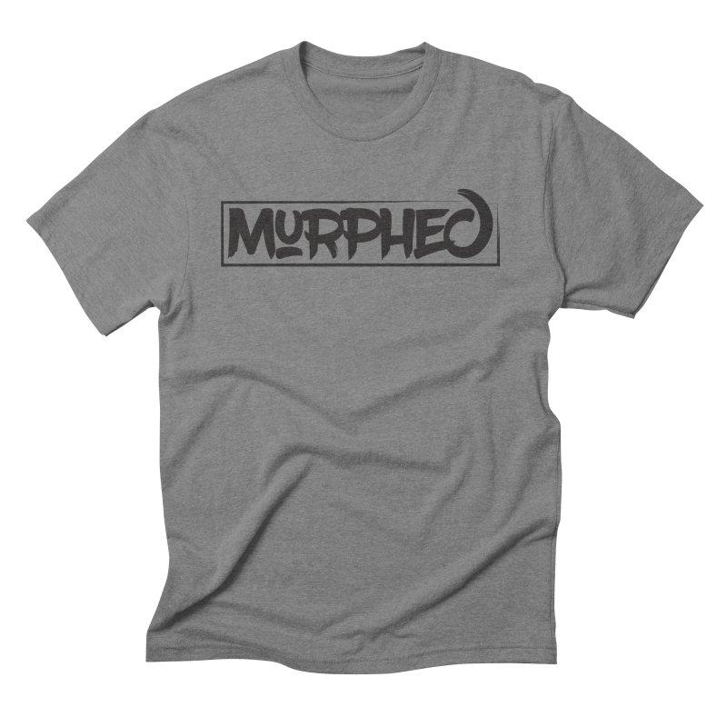 Murphed Logo (Black on White) Men's Triblend T-Shirt by Murphed