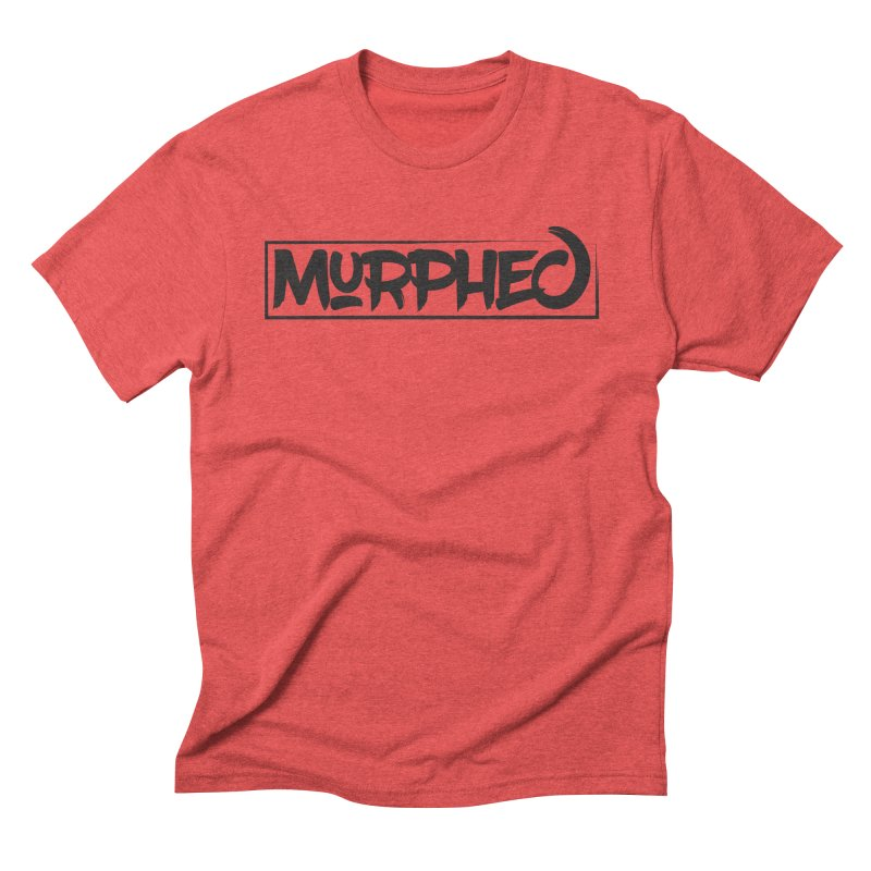 Murphed Logo (Black on White) Men's Triblend T-Shirt by Murphed