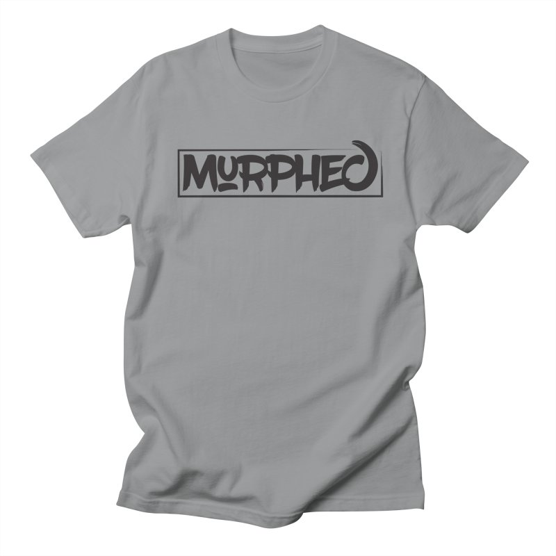 Murphed Logo (Black on White) Men's Regular T-Shirt by Murphed