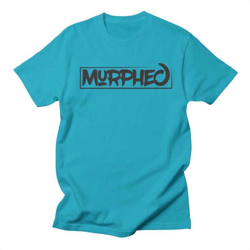 Murphed Logo (Black on White) Women's Regular Unisex T-Shirt by Murphed