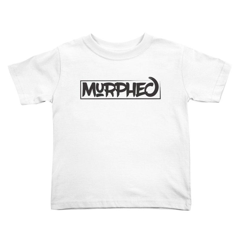 Murphed Logo (Black on White) Kids Toddler T-Shirt by Murphed