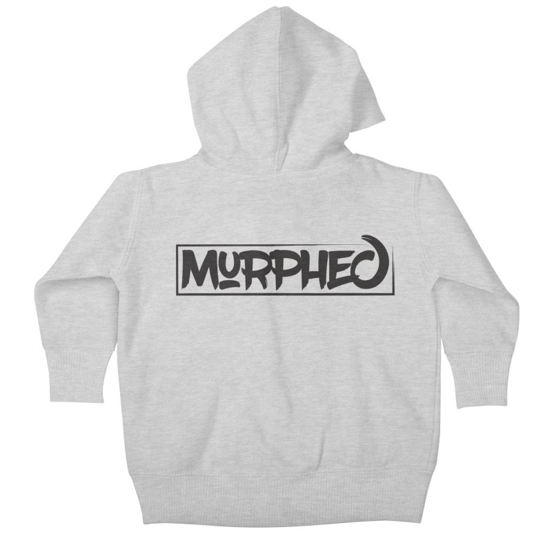 Murphed Logo (Black on White) Kids  by Murphed