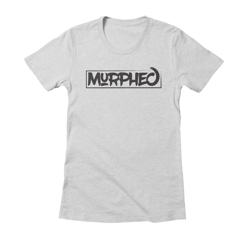 Murphed Logo (Black on White) Women's T-Shirt by Murphed