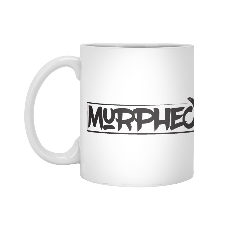 Murphed Logo (Black on White) Accessories Standard Mug by Murphed