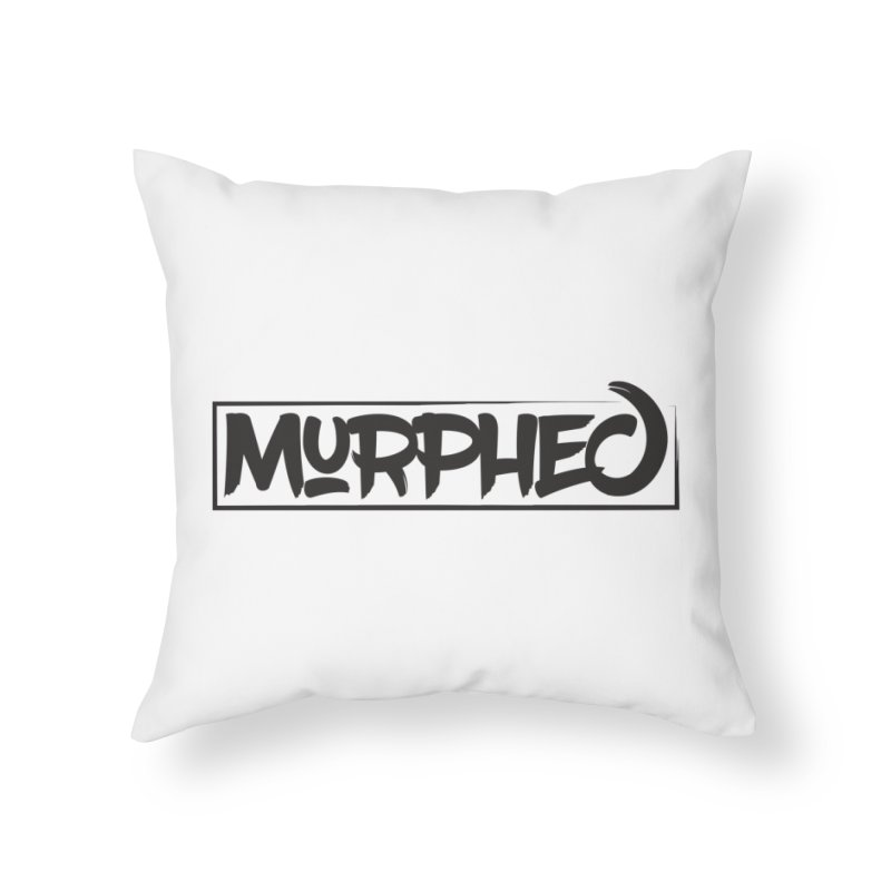 Murphed Logo Home Throw Pillow by Murphed