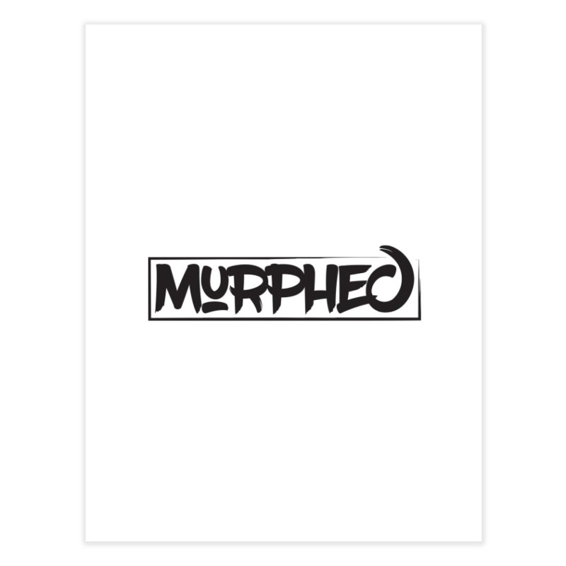 Murphed Logo Home Fine Art Print by Murphed
