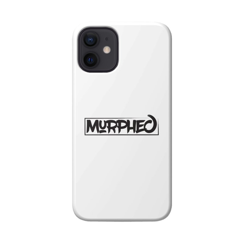 Murphed Logo (Black on White) Accessories Phone Case by Murphed