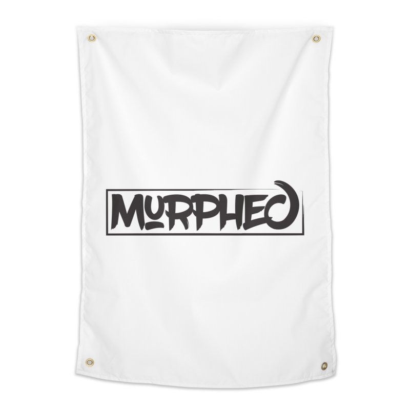 Murphed Logo Home Tapestry by Murphed