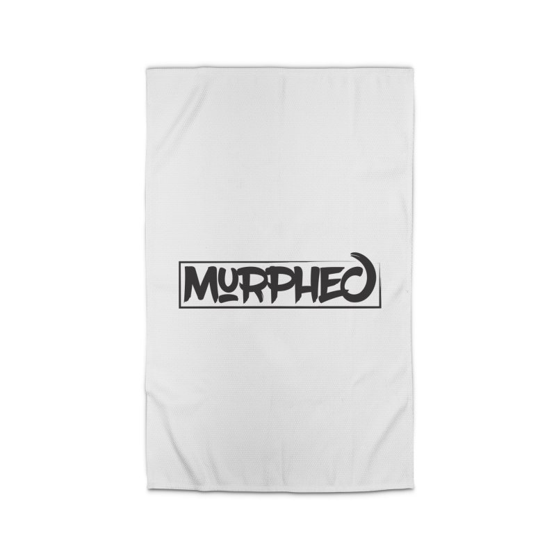 Murphed Logo (Black on White) Home Rug by Murphed