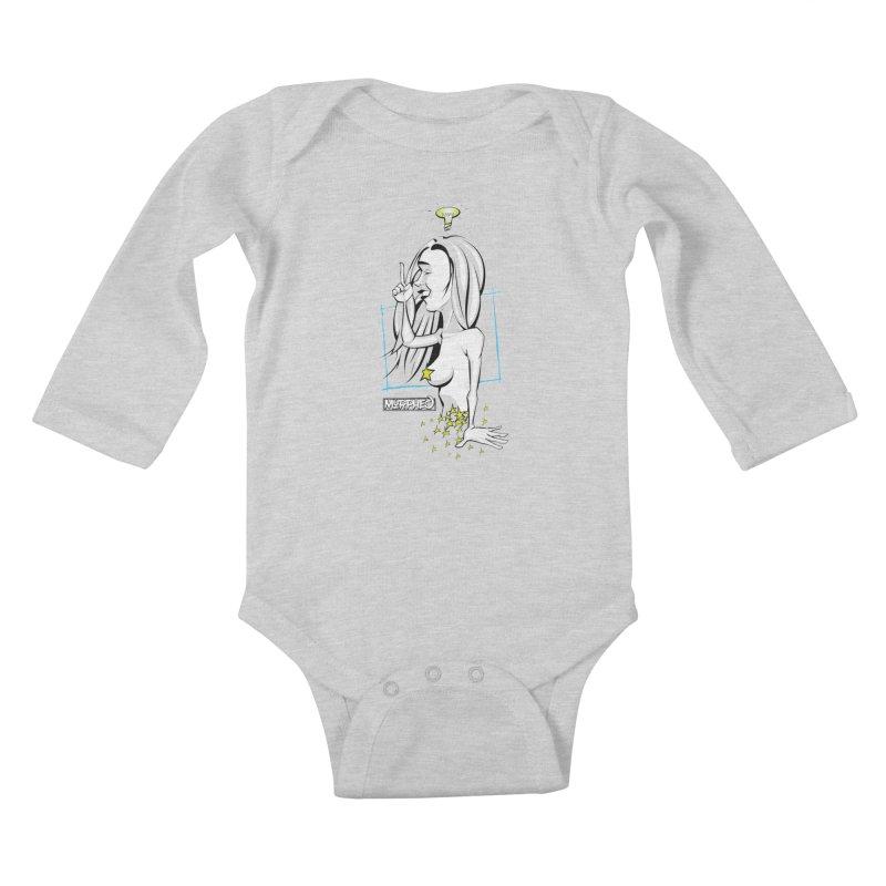 Bulbous Kids Baby Longsleeve Bodysuit by Murphed