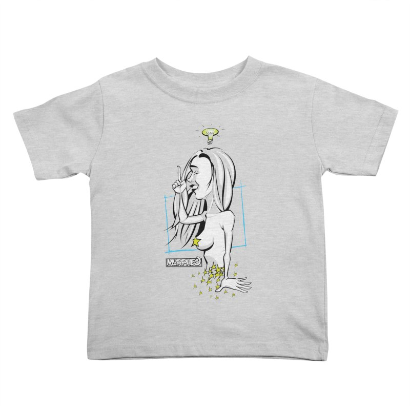 Bulbous Kids Toddler T-Shirt by Murphed