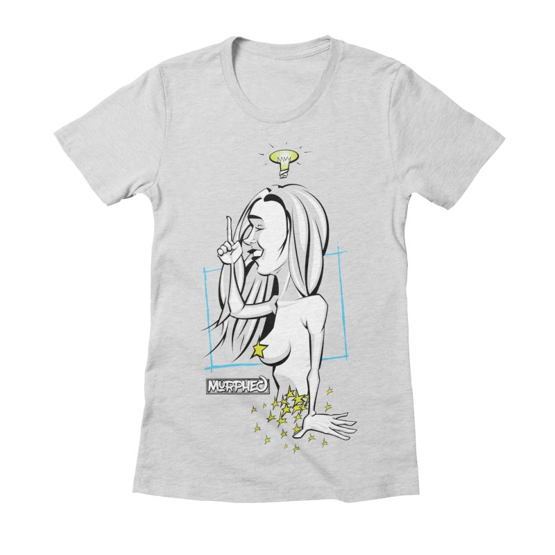 Bulbous Women's Fitted T-Shirt by Murphed