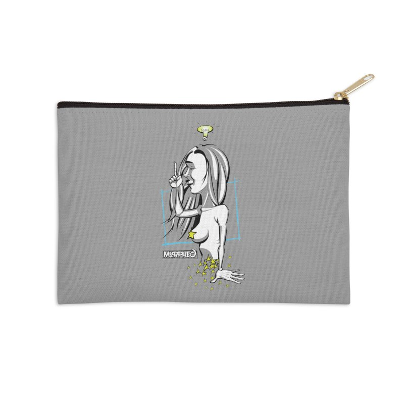 Bulbous Accessories Zip Pouch by Murphed