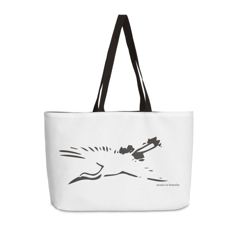 Music to breathe - Bird Accessories Weekender Bag Bag by Boutique