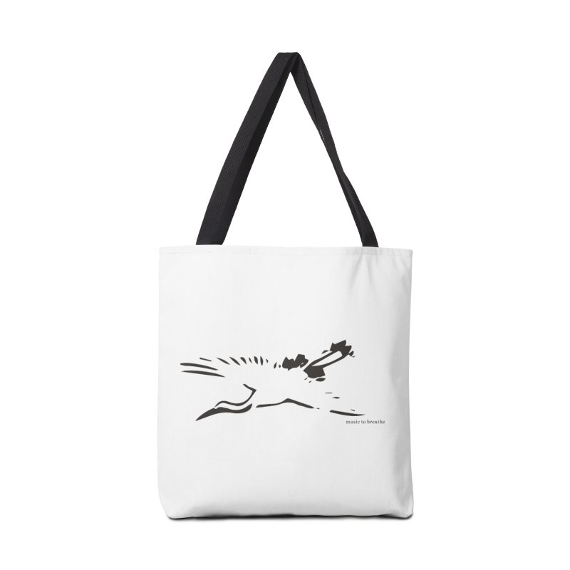 Music to breathe - Bird Accessories Tote Bag Bag by Boutique