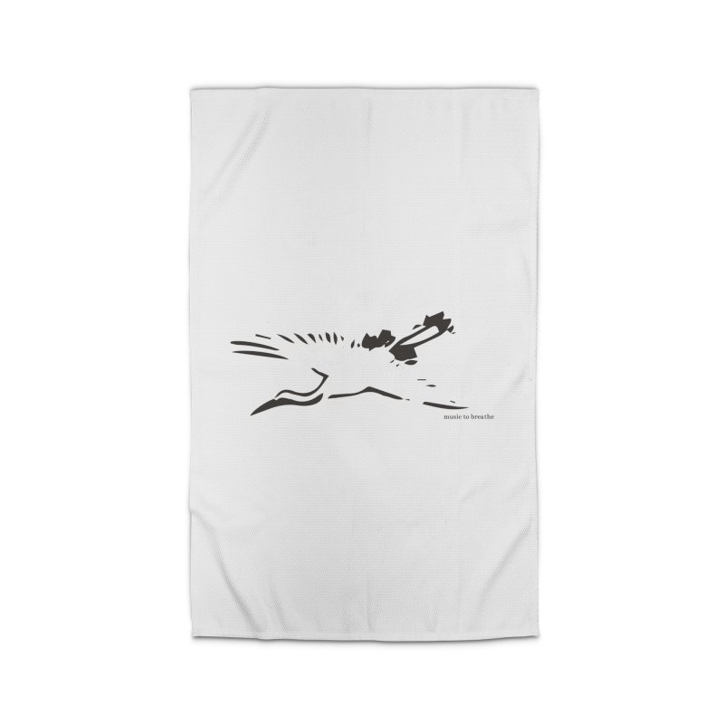 Music to breathe - Bird Home Rug by Boutique