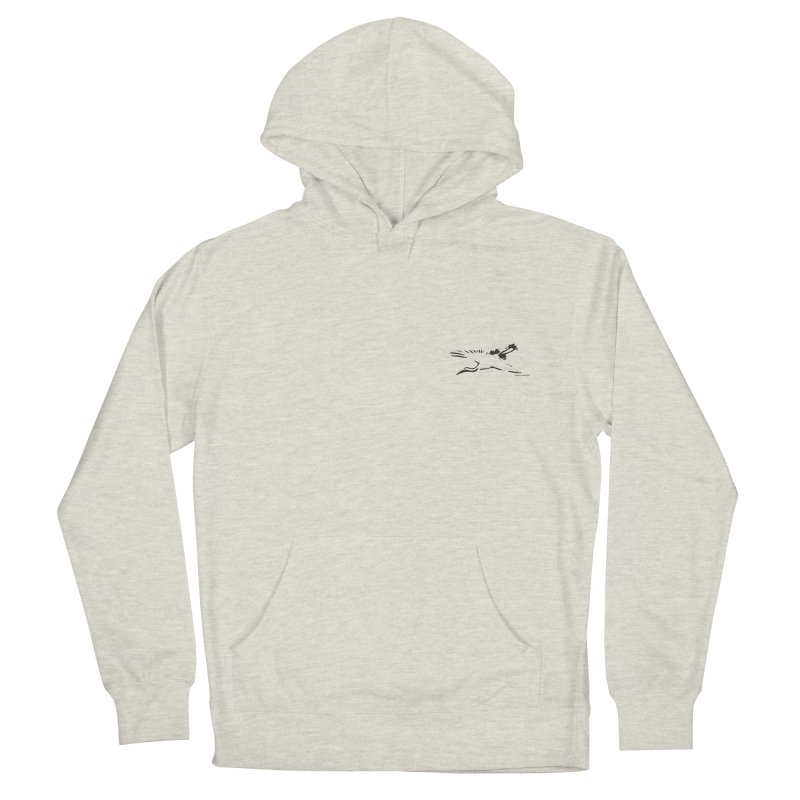 Music to breathe - Bird Men's French Terry Pullover Hoody by Boutique