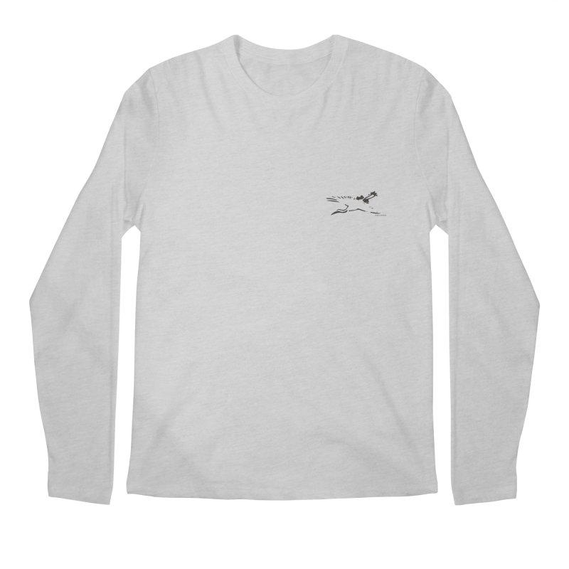 Music to breathe - Bird Men's Regular Longsleeve T-Shirt by Boutique