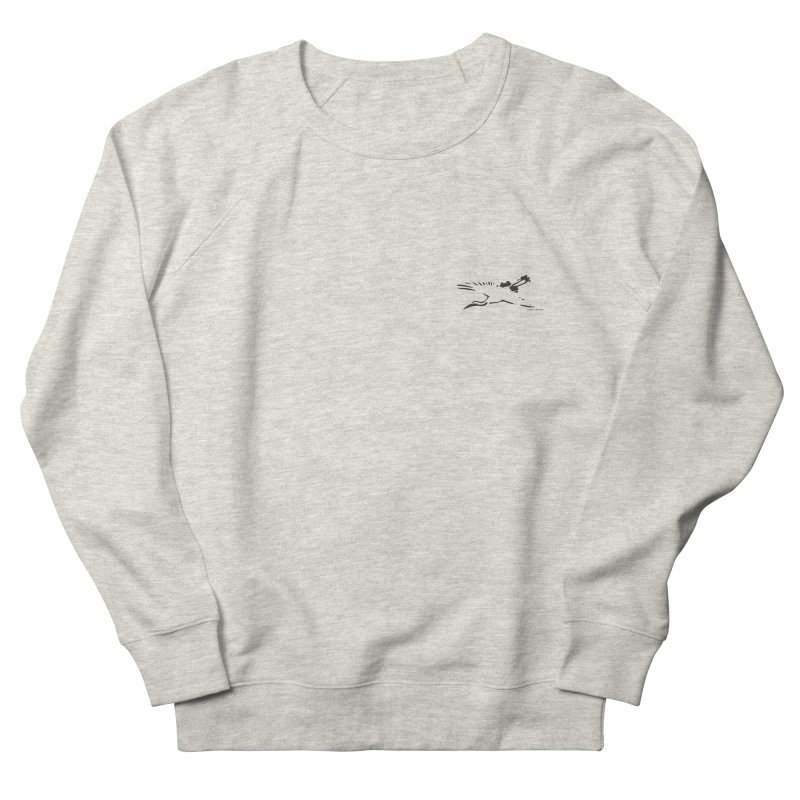 Music to breathe - Bird Women's French Terry Sweatshirt by Boutique