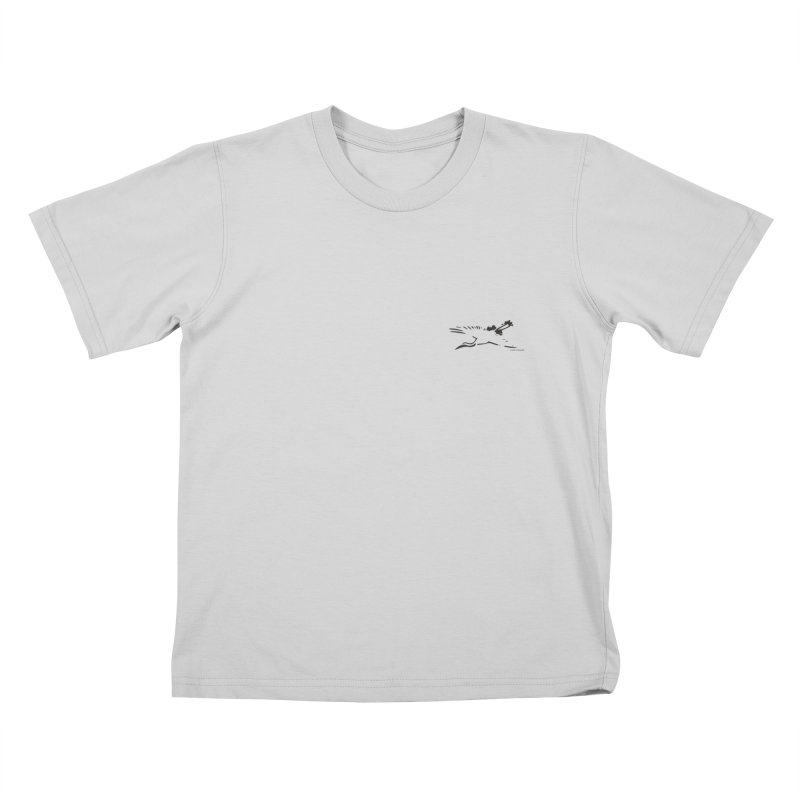 Music to breathe - Bird Kids T-Shirt by Boutique