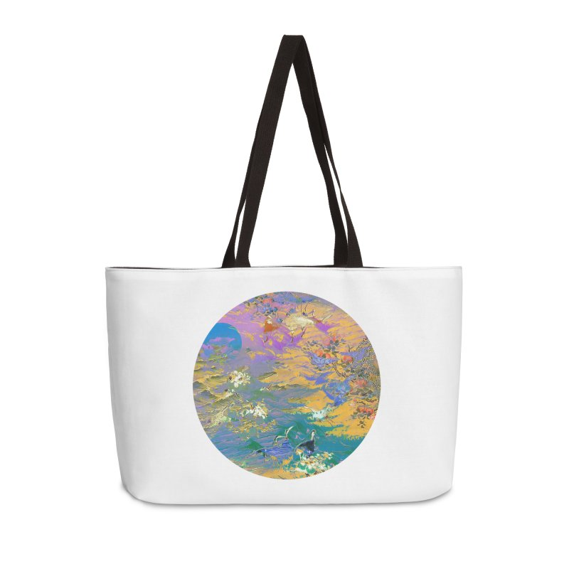 Music to breathe - Circle Accessories Weekender Bag Bag by Boutique