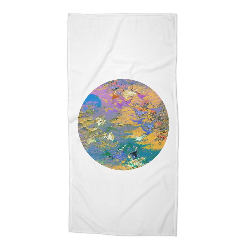 Music to breathe - Circle Accessories Beach Towel by Boutique