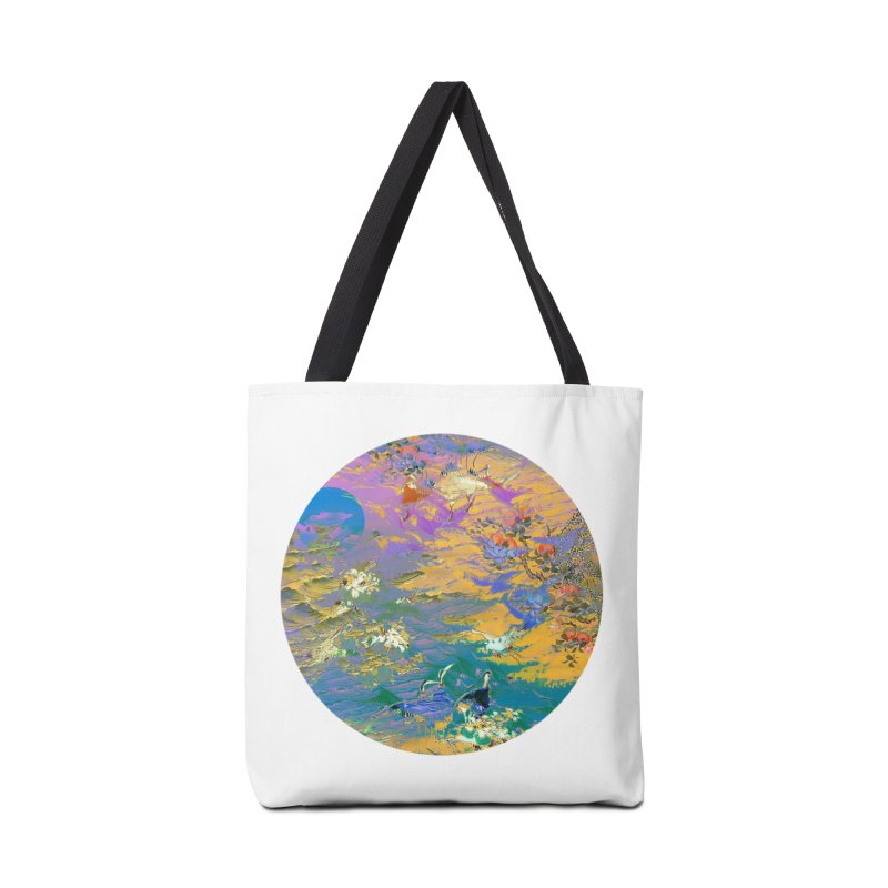 Music to breathe - Circle Accessories Tote Bag Bag by Boutique