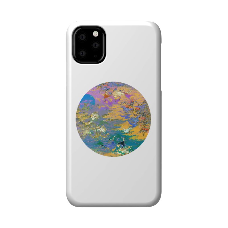 Music to breathe - Circle Accessories Phone Case by Boutique