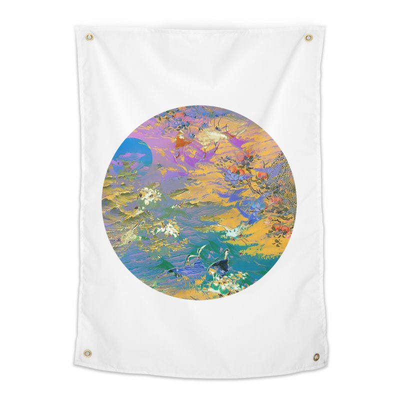 Music to breathe - Circle Home Tapestry by Boutique