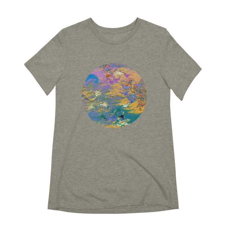 Music to breathe - Circle Women's Extra Soft T-Shirt by Boutique