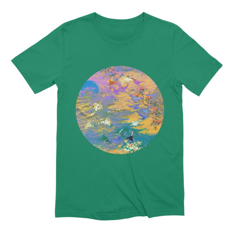 Music to breathe - Circle Men's Extra Soft T-Shirt by Boutique