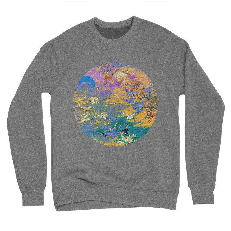 Music to breathe - Circle Men's Sponge Fleece Sweatshirt by Boutique